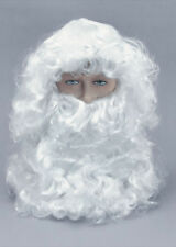White Santa Wig and Beard Set
