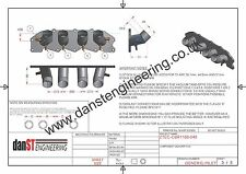 Ford ST170 Inlet Manifold to Suit CBR1100 Carburettors, Bike Carbs, danST