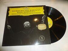 HERBERT VON KARAJAN with the BERLIN PHILHARMONIC ORCHESTRA - Brahms Sym No 1 LP