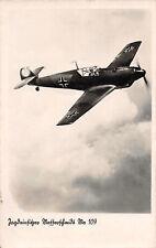 Messerschmitt Me109 Jagdeinsitzer Flugzeug Fotokarte