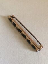 Antique 9ct Solid Gold Brooch