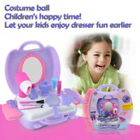 21X Pretend Play Cosmetic Set Kit Beauty Toys Makeup Toy for Little Girls Kids