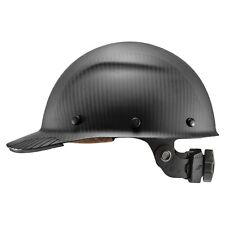 Lift Safety Hdcm-17Mkg Dax Carbon Fiber Cap Style Hard Hat, Matte Black