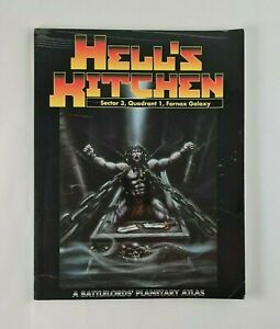 Hell's Kitchen Fornax Galaxy Battlelord's of The 23rd Century RPG Sourcebook ODS
