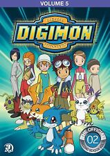 Digimon Adventure: Volume 5 Complete Anime Box / DVD Set NEW!