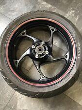 Triumph Street Triple R 765 Rear Wheel & Pirelli Angel Tyre OEM Only 5159 Miles