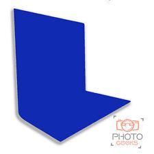 BLUE Muslin Backdrop 3 x 3m - Pro Photography Background Cotton Cloth Chromakey