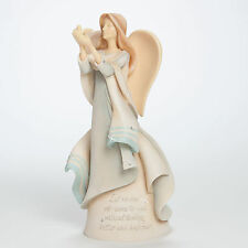 "FOUNDATIONS by Enesco Angel ""Leave Better & Happier"" Mother Teresa~4041273~Sale!"