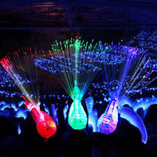 Finger Light Up Ring Laser LED Party Rave Favors Glow Beams Peacock Toys sT