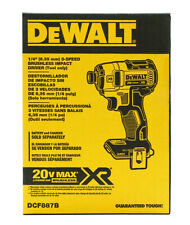 Dewalt 20V MAX Brushless Cordless 3-Speed Impact Driver, Tool Only