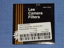 Lee Filter (Wratten) 75x75mm  80D