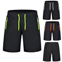 Mens  BeachBoy Summer Shorts Board Shorts Knee Length Zipper Pocket Shorts M-9XL