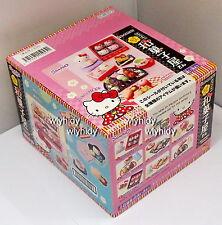 Sanrio HELLO KITTY  Hannari Japanese sweets shop  Box Set - Re-ment   , h#4ok