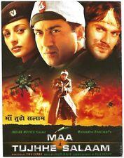 India Bollywood Press Book 2002 Maa Tujhhe Salaam Sunny Deol Tabu Arbaaz Khan