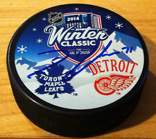 David Clarkson Toronto Maple Leafs Puck Hockey Signed NHL Winter Classic Puck