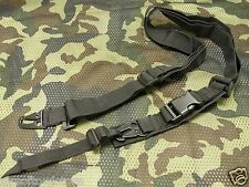 Airsoft 3 Point Sling Tactical Lanyard CQB QD Black For BBs SMG Rifle AEG (210)