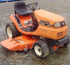 Kubota Lawn & Garden Tractors OP Operator's Manual TG1860 & TG1860G Owner CD