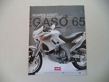 advertising Pubblicità 1998 MOTO APRILIA PEGASO CUBE 650