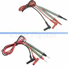 Universal 1 Pair Clamp Multimeter Multi Meter Lead Wire Probe Test Cable