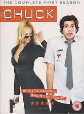 CHUCK - Series 1. Zachary Levi, Yvonne Strahovski (4xDVD BOX SET 2008)