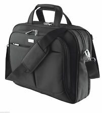 "TRUST 19805 ""SYDNEY"" 16"" TL LUXURY NOTEBOOK LAPTOP CARRY BAG, TWO PADDED POCKETS"