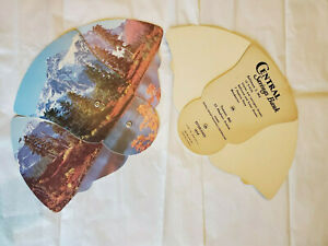 2 Vintage Fans Central Savings Bank Baltimore Towson MD Mt Shuksan advertising