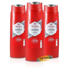 3x Old Spice Original Body Shower Gel 250ml Long Lasting Fragrance For Men