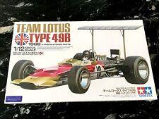 TAMIYA 12053 1/12 F1 TEAM LOTUS TYPE 49B 1968 W/PHOTO ETCH PARTS MODEL 12053 F/S