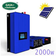 2000W Solar on Grid Tie Inverter, SUN Power MPPT PV System DC 45-90V AC 220-240V