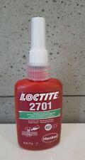 UK LOCTITE 2701 50ml High strength, low viscosity, green, threadlocking adhesive