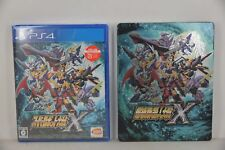 PS4 Super Robot Taisen War Wars X 10 (Japanese)+ DLC +Official Limited Steelbook