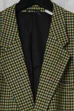 Vintage-Sakko aus Woll-Tuch mit Kaschmir 56 Jacket Blazer Wollsakko