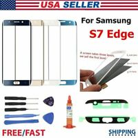 Front Glass Lens Outer Touch Screen Replacement For Samsung GALAXY S7 Edge G935