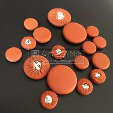 10 sets New clarinet pads leather great material brown color