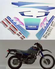 Kit adesivi decal stickers yamaha xt 600 e 3tb 1992 Mod Black blue