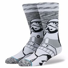 STANCE MENS STAR WARS SOCKS.EMPIRE STORMTROOPER LONG CREW SIZE LARGE UK 8.5-11.5