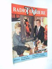 Radio Corriere TV n 10 marzo 1963 Rina Morelli e Paolo Stoppa