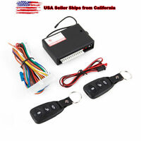 Universal Car Remote Central Kit Door Lock Vehicle Keyless Entry System US OY