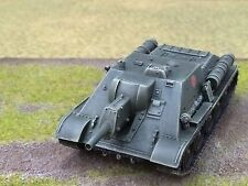 1/56 28mm DPS painted WW2 Bolt Action Soviet USSR Su-100 Self Propelled Gun T123