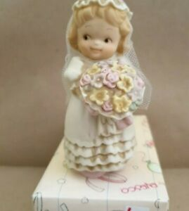 """Mabel Lucie Attwell, memories of yesteryear 1994 """" Girl dressed as a bride"""""""