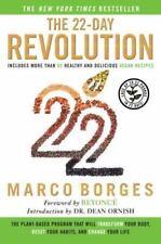 The 22-Day Revolution Book Marco Borges Alternative Health Vegan Detox Cleanse