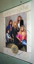 WHITESNAKE Group Vintage 1987 Poster