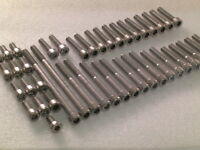 Triumph Tiger 800 2010-19 engine 59x Stainless Steel Allen Bolts Socket screws