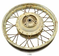 Zündapp 175 S ´56 - Rear wheel rear wheel rim