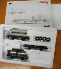 46073 Märklin Wagenset Zeppelin Spur H0 DB OVP 1:87 train Güterzugset 3-teilig