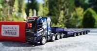 "Herpa  Volvo FH Gl. Semitieflade-Sattelzug ""BDT Logistik GmbH"" 1:87"