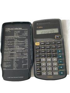 Texas Instruments TI-30Xa Scientific Calculator Tested Working Genuine TI-30XA