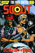 Scout #24 October 1987 Eclipse Comics Comic Book (FN/VF)