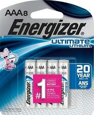 Energizer Ultimate Lithium AAA Batteries, 8 Count L92BP-8 AAA8