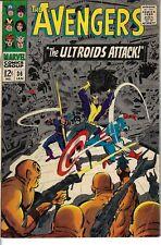 Avengers 36 Ultroids Black Widow VG+ 1967 Glossy